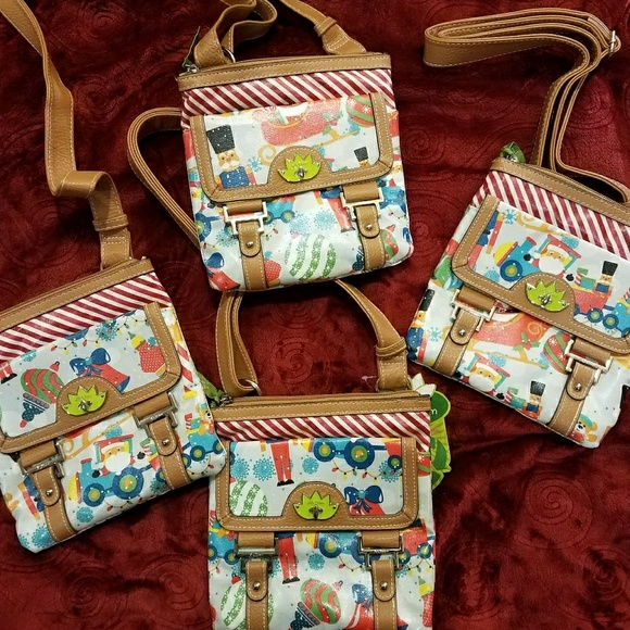 871dee4e7 Lily Bloom Bags | Christmas Crossbody Bag | Poshmark