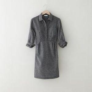 Steven Alan Genevieve Long Sleeve Shirt Dress