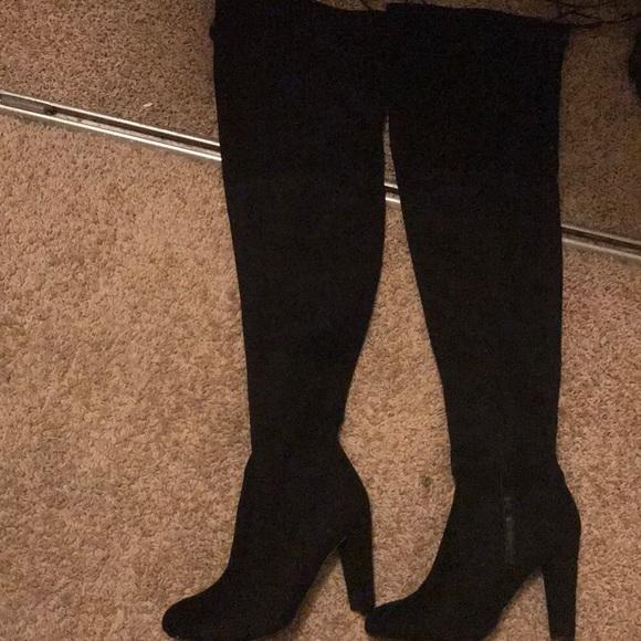 99ac2943f59 Aldo Shoes - Thigh high suede boots
