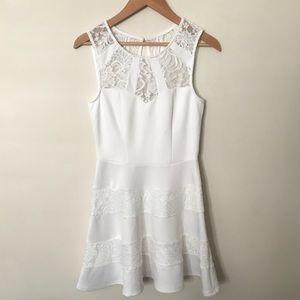 White Skater/Fit & Flare Dress