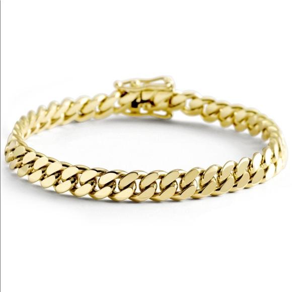 8mm Miami Cuban link bracelet Handmade 3513b69106