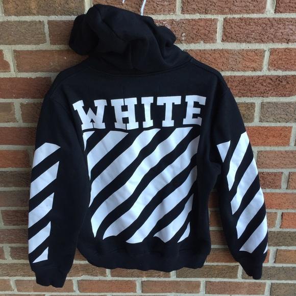 Nike x Off White Men's Hoodie White Size L Virgil Abloh