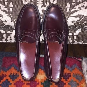 1c5fd288476 Dexter Shoes - Mens DEXTER classic cordovan penny loafers wine 11
