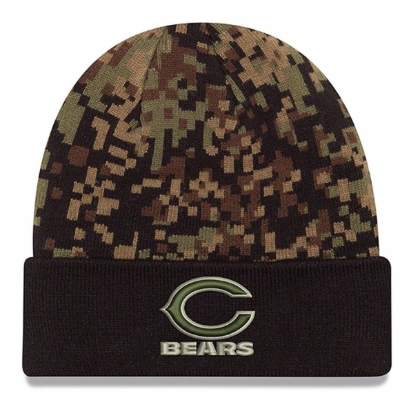 b4acf0bc6d5 SOLD OUT Bears New Era Woodland Camo Knit Beanie