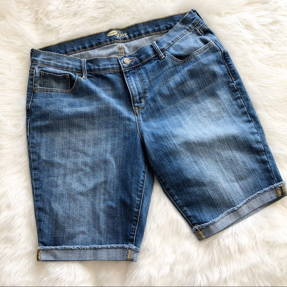 Old Navy Pants - Old Navy • Denim Bermuda Shorts