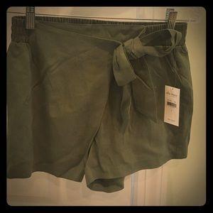 """Ella Moss Olive green """"skort"""" - NWT"""