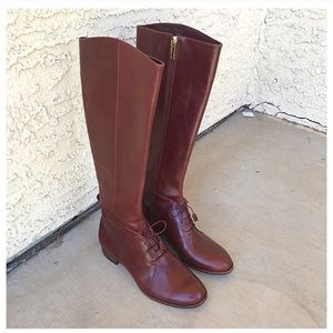 Louise et Cie Leather Ridding Boots