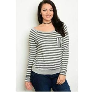 Tops - NWT PLUS long sleeve shirt