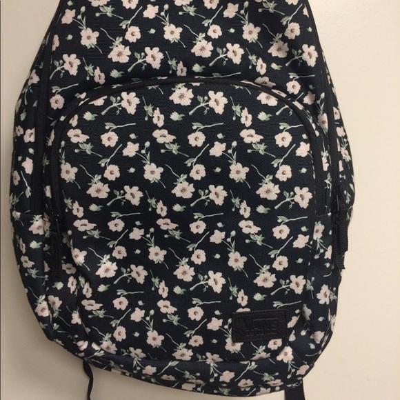 c97af4f2df6 Vans Floral Laptop Backpack School Bag. M_5a1c301ef0928220650c1d3c