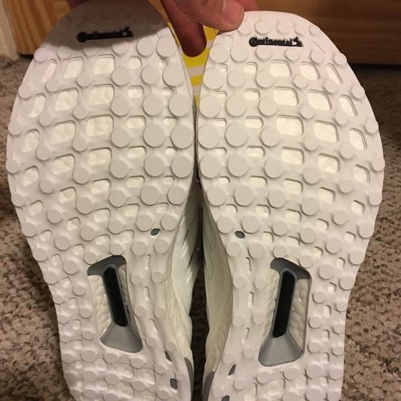 Adidas Ultra Boost Hvite Menns 11 61D22m2q