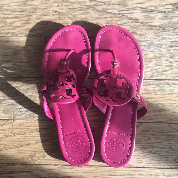 bb930201edf5 Tory Burch Shoes - Tory Burch Fuchsia Miller Sandal women