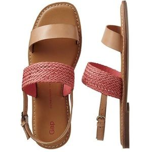 GAP Two-Band Woven Sandals