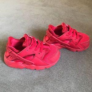 Nike Shoes | Baby Boy Huarache Red