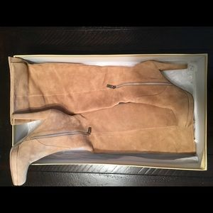 MK Suede Boots—never worn!!