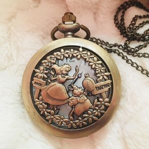 Alice and Wonderland PocketWatch
