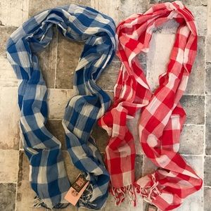 Juicy Couture bundle of scarves NWT
