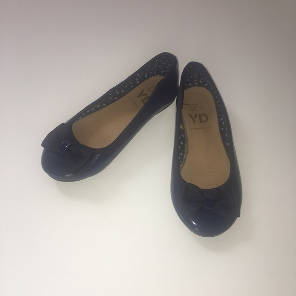 b97d9ef79 Shoes | Girls Navy Blue Patent Leather Slip On | Poshmark