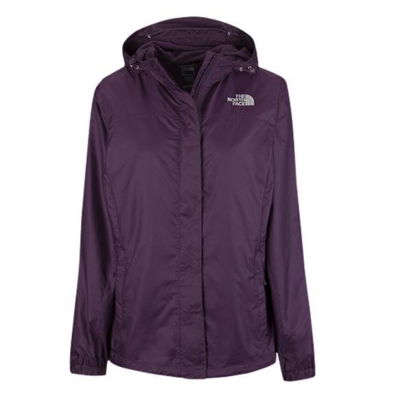 458ccd5c7 Women's NorthFace Rain Jacket (Plum/Dark Purple)