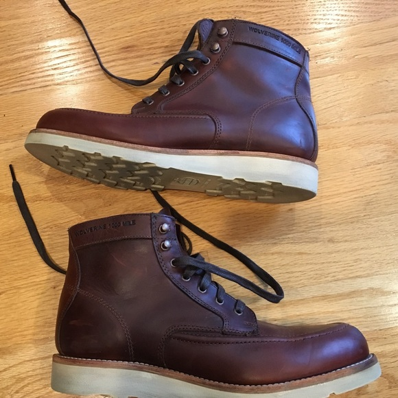 e0be716f976 Wolverine Boot: Emerson 1000 Mile USA made