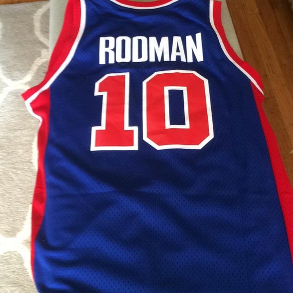 competitive price 089cb 1f4e9 Dennis Rodman pistons jersey