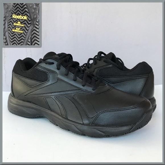 59eec49565b Reebok Work Shoes Oil Slip Resistant Memory Foam. M 5a1c4af8bf6df500850c8211