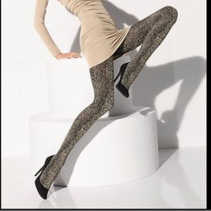 NWT WOLFORD RATTLE TIGHTS PANTYHOSE