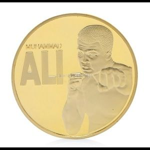 Accessories - New Muhammad Ali Gold Plated Coin