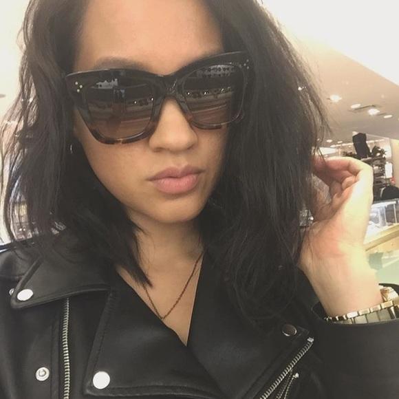 7d030d5d0e Celine Accessories - Celine Cat Eye Sunglasses Catherine 41098