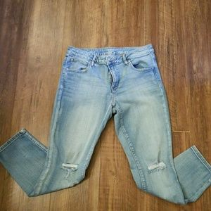 a.n.a. skinny ankle jeans