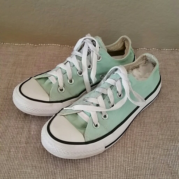 f025f0f03179 Converse Shoes - Converse Chuck Taylor sneakers low mint green 6