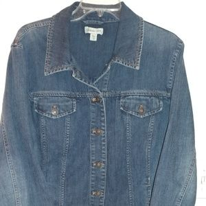Closet Clear Out! Coldwater Creek Blue Jean Jacket