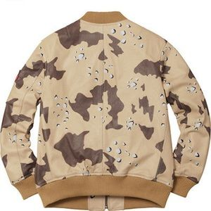 best loved 0f7be b2c63 Supreme Jackets   Coats - Supreme Leather MA1 Desert Camo L IN HAND SS17