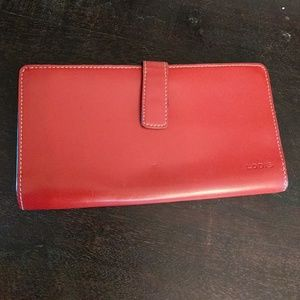 Red lodis wallet