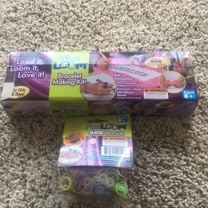 Other - Fun Loom bracelet making kit and loom bands!