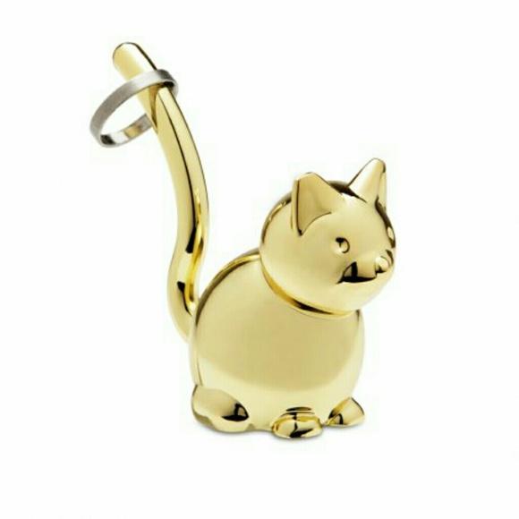 Umbra Zoola Cat Ring Holder Gold Brass from Dena s closet on