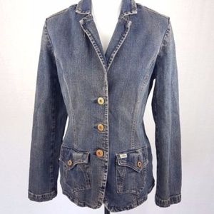 Levi's Jean Denim Jacket Blazer Size  M