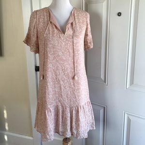 Sanctuary drop-waist boho shift dress
