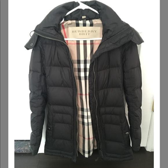 Burberry Jackets   Blazers - Authentic Burberry Down Coat Women Size XS 25d1b136a