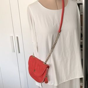 Coral Cross Body Bag