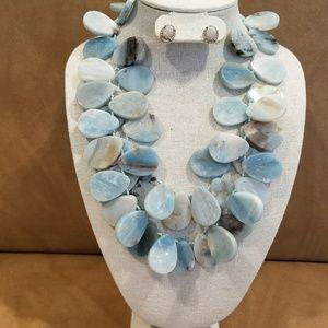 Jewelry - Genuine stone neckalce