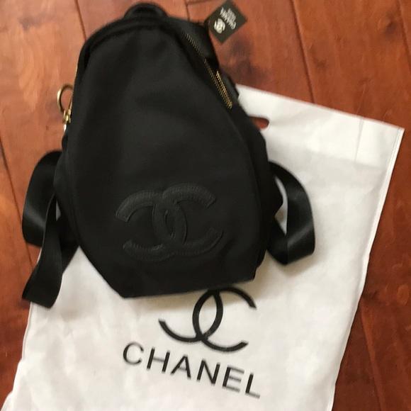 90891c167410 Chanel VIP gift backpack crossbody NEW