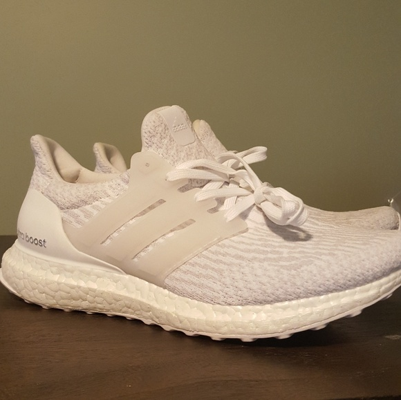 892f7dce0d8ef adidas Shoes - Adidas Triple White Ultra Boost Women s Size 8