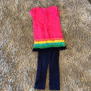 Toddlers Circo tunic with leggings
