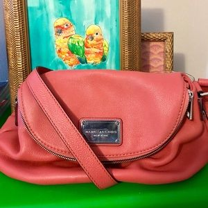 Marc by Marc Jacobs coral handbag