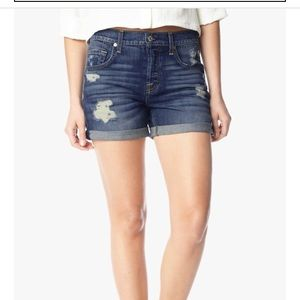 7 For All Mankind Relaxed Short with Destroy