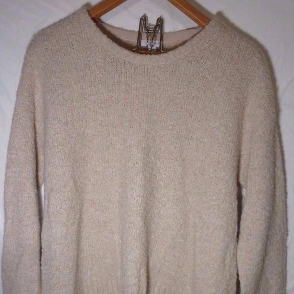 8b850288300 J. Jill Sweaters - Pure J.JIll Beige wool boucle plush Sweater M