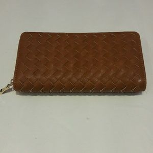 Handbags - Woven Leather Wallet