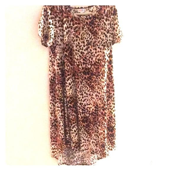 32b1fc8933e6 LuLaRoe Dresses | Leopard Print Carly | Poshmark