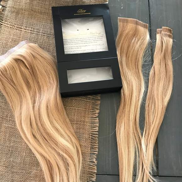 Luxy Other Seamless Clip In Hair Extensions Poshmark