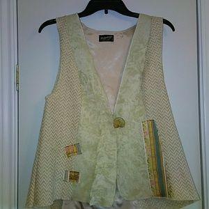 LEE ANDERSEN Designer Boho Hippie Vest